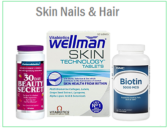 Skin, Nails & Hair Support